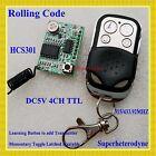 Rolling code Receiver Module Transmitter RF Wireless Remote Control super-hetero