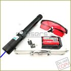 2WB960 450nm BURNING Blue Laser Pointer With 2 X 18650 Li Battery Burn Matches