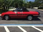1990 Alfa Romeo Spider Veloce Low Mileage Spider in Excellent Original Cond; Driven Weekly; Fully Serviced