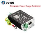 Ethernet Network Power RJ45 Surge Protector Lightning Arrester Switch Camera SPD