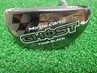 "Used RH TaylorMade Monte Carlo Ghost Tour Black 34"" Putter/Steel- Chrome Shaft"