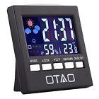 Otao Humidity Meter Color Digital LCD Screen Multifunctional Hygrometer Tempe...