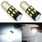 JDM ASTAR 2x Xenon White 1157 BAY15D 68-SMD Car Tail Brake Stop Led Light Bulb