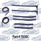CONVERTIBLE TOP SEALS KIT 8PCS 55-57 BELAIR STARCHIEF