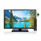 Axess TVD1805-24 23.8 Inch High Definition LED TV with DVD Player NEW
