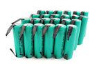 24 Pack Tenergy AA 1800mAh 10C NiMH Flat Top Rechargeable Battery w/ Tabs