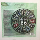 "Taylor 98266 22"" Route 66 Metal License Plate Wall Clock Great Gift!"