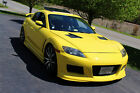 2004 Mazda RX-8 MazdaSpeed body kit 2004 Mazda RX8 YELLOW and Black Custom with LOTS of Extras