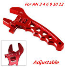 Adjustable Aluminum Lightweight AN Fitting Wrench Auto Tool for AN 3 4 6 8 10 12