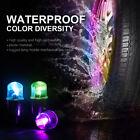 10x Chromatic LED Auto Car Wheel Tyre Tire Valve Stem Cap Light Lamp Bulb Shock