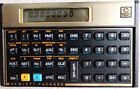 Hewlett-Packard HP 12C Programmable Financial Calculator Manual Excellent Cond.
