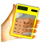 Transparent Calculator Clear Scientific Calculator Solar Energy Led Clear C X3H4