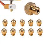 5/10Pcs0.2-0.6mm Brass Nozzle for MK8 Extruder V5/6 Print Head 3D Printer Part