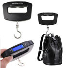 50KG LCD Digital Travel Portable Hanging Weight Luggage Electronic Hook Scales