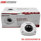 US Hikvision DS-2CD2542FWD-IS 4MP POE IR W/ Mic Dome Network Camera 4/6mm Lens