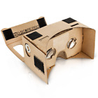 D-scope Pro Google Cardboard Kit with Straps 3D Virtual Reality Compatible with
