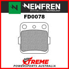 Newfren Kawasaki KX85 01-18 Sintered Rear Brake Pads FD0078SD