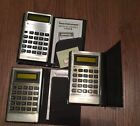 3 Vintage Texas Instruments TI-1750 Electronic Calculator.free Shipping