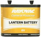 Rayovac 918 Lantern Battery, 6 Volt Screw Terminals