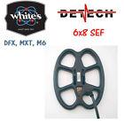 Detech SEF Pro 8×6″ coil for Whites DFX/MXT/M6  Metal Detectors