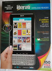 Sharper Image Literati Color E-Book ebook Reader Wireless ~ Not working