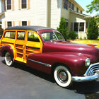 1946 Oldsmobile 66 Woodie & 66 Sedan  1946 Oldsmobile Woodie Wagon, Model 66 - 2 Car Package Deal