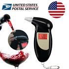 LCD Digital Alcohol Breath Analyzer Breathalyzer Tester Detector Test Key Chain