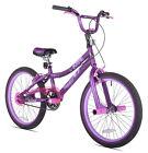 20 Kent 2 Cool Girls BMX Bike, Satin Purple with Colorful Padded Seat