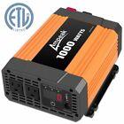 Ampeak 1000W Power Inverter 12V DC-110V AC Truck/RV Inverter/Converter IVUFA1000