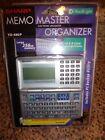 Sharp Memo Master Electronic Organizer YO 480P Back Light Large 256KB Memory New
