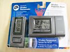 Wireless Indoor/Outdoor Thermometer #9117 & Wireless Projection Alarm #5110