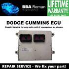 Dodge Cummins ECU w/ 2-Plugs Main Engine Computer Repair Service