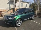 2017 Land Rover Range Rover Autobiography 2017 Range Rover Autobiography Spectral British Racing Green Executive Rear Seat