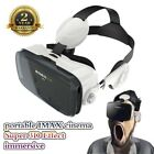VR Headset 3D VR Glasses 360° Viewing Virtual Reality Headset with Headphone