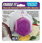 Fridge-It Cube, Naturally Activated Charcoal Deodorizer, Refrigerator Odor Elimi