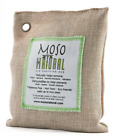 Moso Natural Air Purifying Bag. Odor Eliminator for Cars, Closets, Bathrooms and