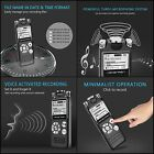 MINI Size 8GB Digital Voice Activated Recorder Metal Casing Easy Use USB
