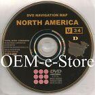 09.1 Update 2007 2008 2009 Tundra Solara Camry & Hybrid Navigation DVD Disc U34