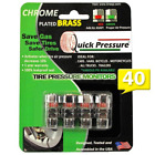 Quick Pressure QP-000040 Chrome Plated Brass 40 psi Tire Pressure Monitoring Val