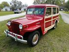 1948 Willys Station Wagon  1948 Willy's Jeep Station Wagon