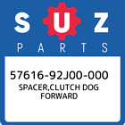 57616-92J00-000 Suzuki Spacer,clutch dog forward 5761692J00000, New Genuine OEM