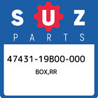 47431-19B00-000 Suzuki Box,rr 4743119B00000, New Genuine OEM Part