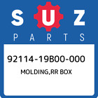 92114-19B00-000 Suzuki Molding,rr box 9211419B00000, New Genuine OEM Part