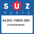 64265-19B00-000 Suzuki Cover,rr brake 6426519B00000, New Genuine OEM Part