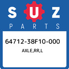 64712-38F10-000 Suzuki Axle,rr,l 6471238F10000, New Genuine OEM Part