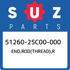 51260-25C00-000 Suzuki End, Rod(Thread), r New Genuine OEM Part