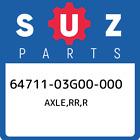 64711-03G00-000 Suzuki Axle, Rr, r New Genuine OEM Part