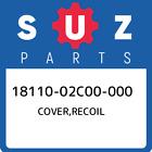 18110-02C00-000 Suzuki Cover, Recoil New Genuine OEM Part
