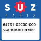 64731-02C00-000 Suzuki Spacer, Rr Axle Bearing New Genuine OEM Part