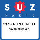61380-02C00-000 Suzuki Guard, Rr Brake New Genuine OEM Part